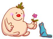 イーカオとニャン花